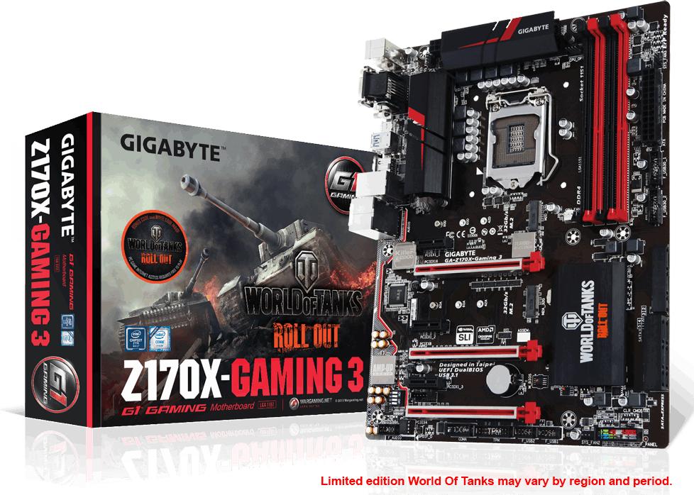 Płyta główna Gigabyte GA-Z170X Gaming 3 1