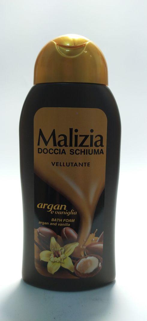 Malizia  Żel pod prysznic 300ml argan/wanil 1