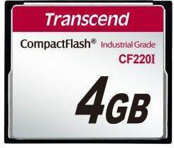 Karta Transcend CF220I Compact Flash 4 GB  (TS4GCF220I) 1