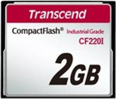 Karta Transcend CF220I Compact Flash 2 GB  (TS2GCF220I) 1