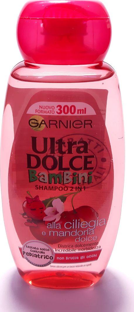 Garnier Włoski szampon Ultra Dolce - 2w1 wiśniowy i migdałowy 300ml 1