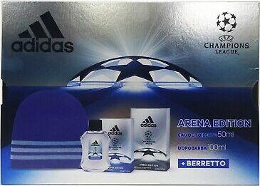 Adidas ADIDAS Zestaw woda toal.+balsam+czapka 1