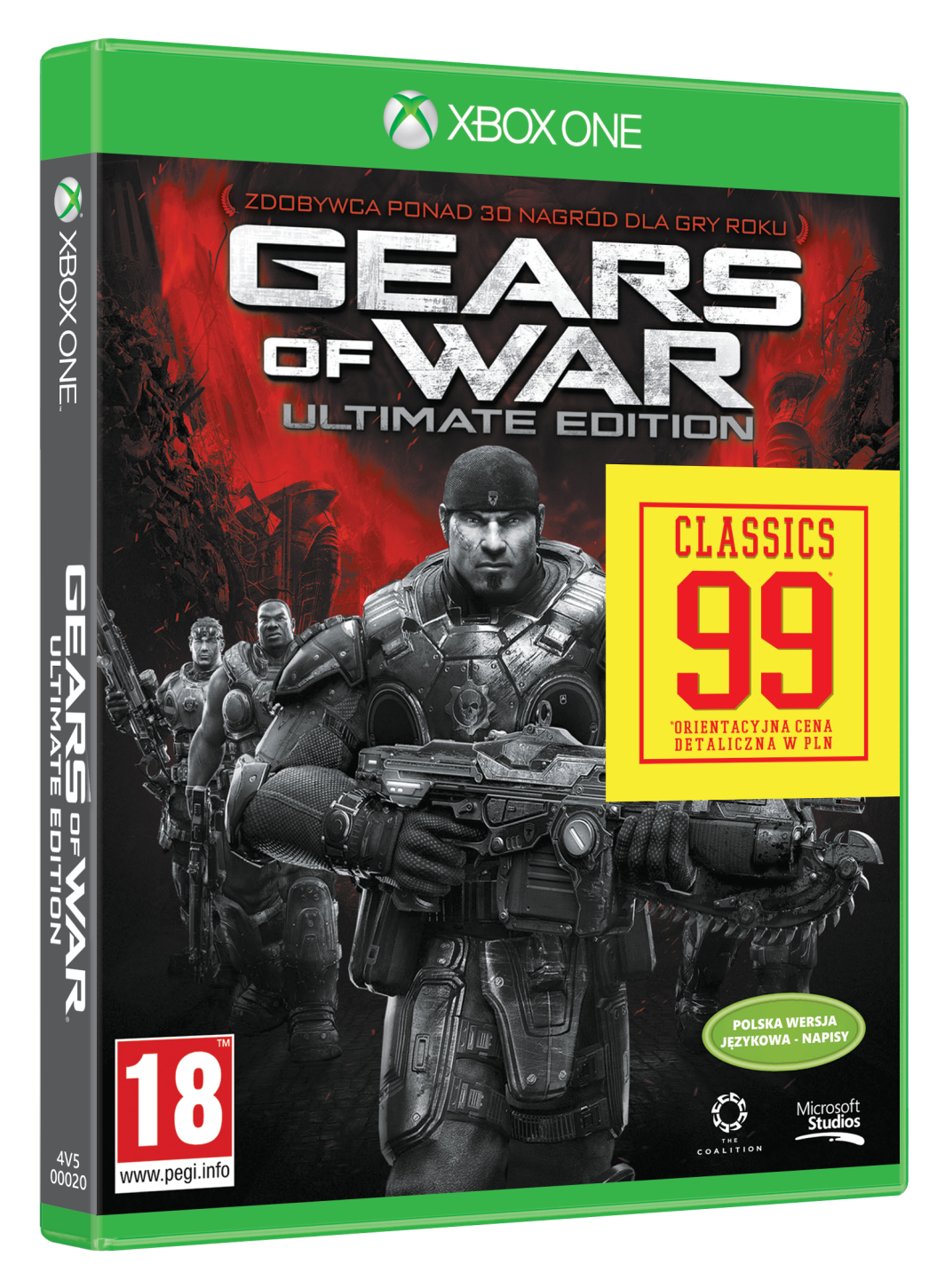 Gears of War Ultimate Edition (4V5-00020) Xbox One 1