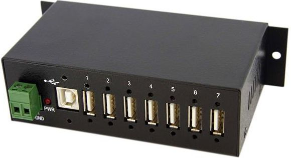 HUB USB StarTech przemysłowy 7 portów, RUGGED (ST7200USBM) 1