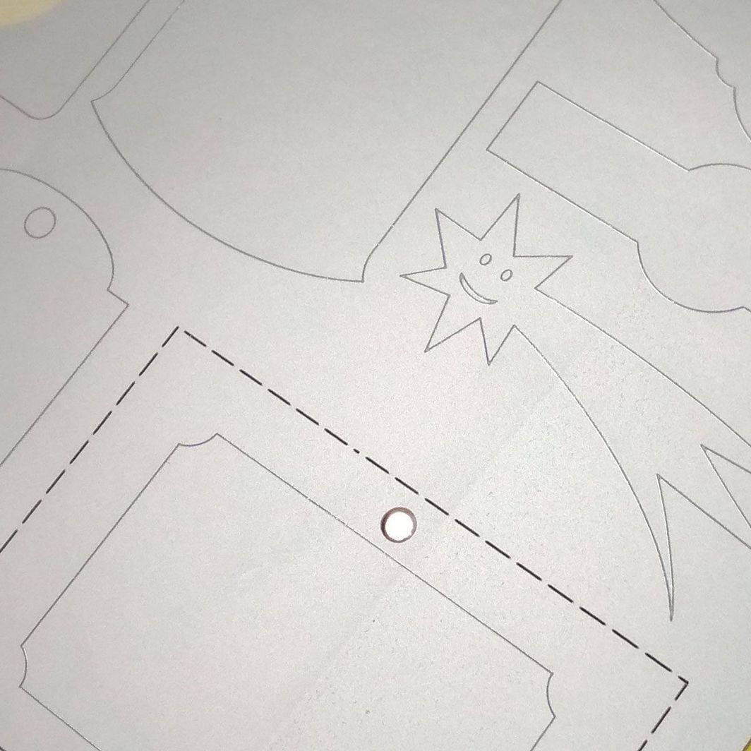 Rayfilm Samoprzylepna, matowa folia poliestrowa metalizowana A4, 10 arkuszy 1