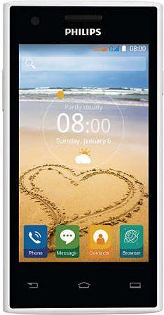 Smartfon Philips 4 GB Dual SIM Biało-czarny  (CTS309/PWPECPPL) 1