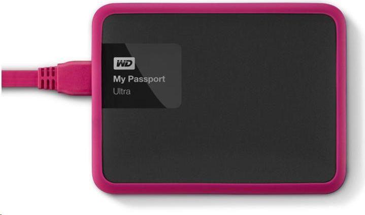 Western Digital Etui na dysk twardy WD Grip Picasso 1TB różowy (WDBZBY0000NPM-EASN) 1
