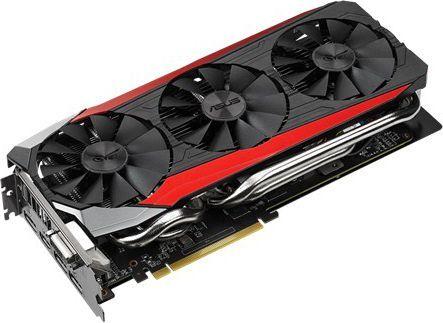 Karta graficzna Asus Radeon R9 390 OC, 8GB GDDR5, 512 Bit, HDMI, DVI, 3xDP, Box (STRIX-R9390-DC3OC-8GD5-GAMING) 1