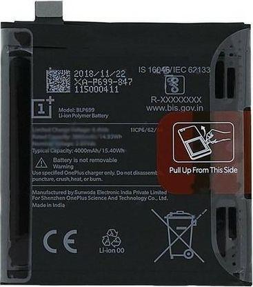 Bateria OnePlus Bateria OnePlus 7/7 Pro BLP699 bulk 4000mAh 1