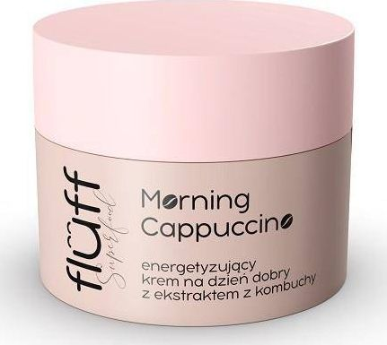 Fluff Morning Cappucino energetyzujący krem na dzień z ekstraktem z Kombuchy 50ml 1