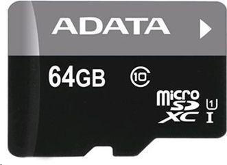 Karta ADATA MicroSDXC 64 GB Class 10  (AUSDX64GUICL10-R) 1