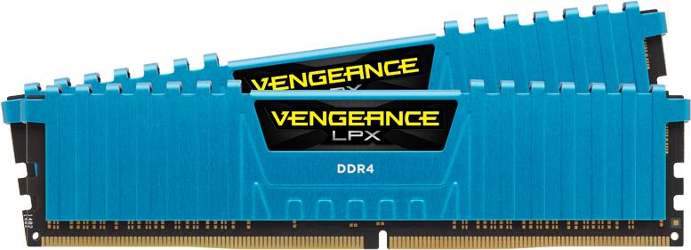 Pamięć Corsair Vengeance LPX, DDR4, 16 GB, 3000MHz, CL15 (CMK16GX4M2B3000C15B) 1