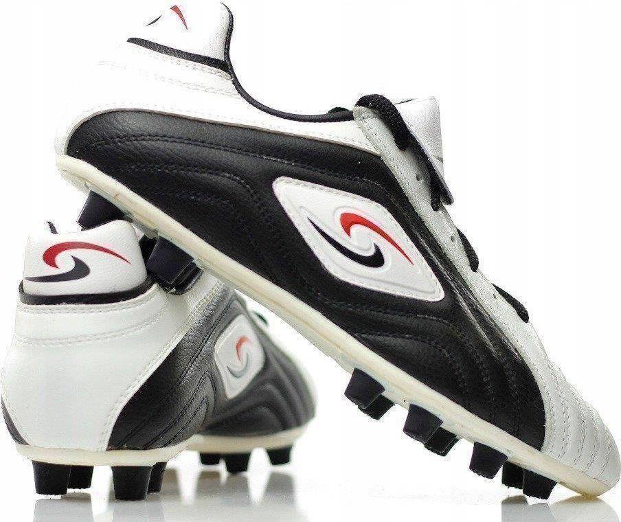 Skórzane buty piłkarskie sportowe korki lanki uniwersalny 1