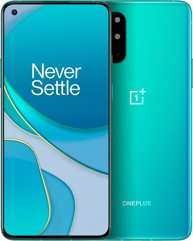 Smartfon OnePlus 8T 5G 128 GB Dual SIM Niebieski  (OnePlus 8T Aquamarine Green 5G) 1
