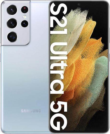 Smartfon Samsung Galaxy S21 Ultra 5G 12/128GB Dual SIM Srebrny  (SM-G998BZSDEUE) 1