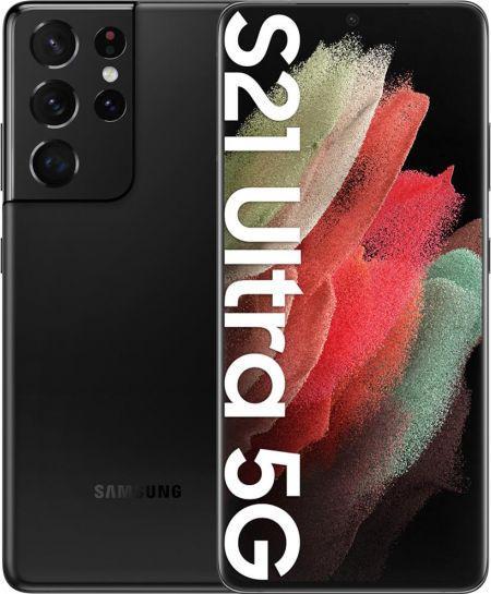 Smartfon Samsung Galaxy S21 Ultra 5G 128 GB Dual SIM Czarny  (SM-G998BZKHEUE) 1