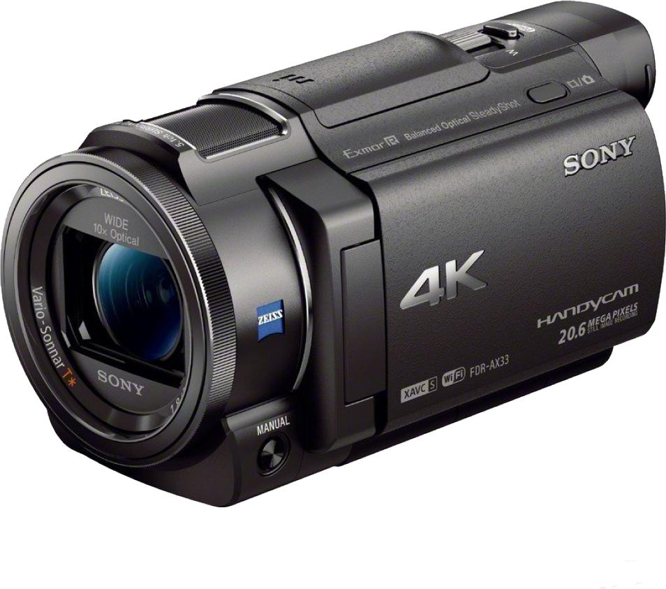Kamera cyfrowa Sony FDR-AX33B (FDRAX33B.CEN) 1