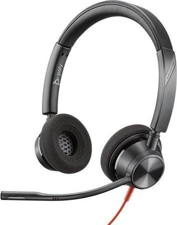 Słuchawki z mikrofonem Poly Blackwire C3320 USB-A (214012-01)  1
