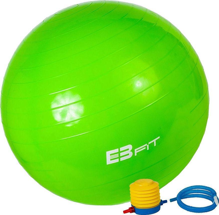 Energetic Body Piłka Fitness z Pompką Zielona 55 cm  1