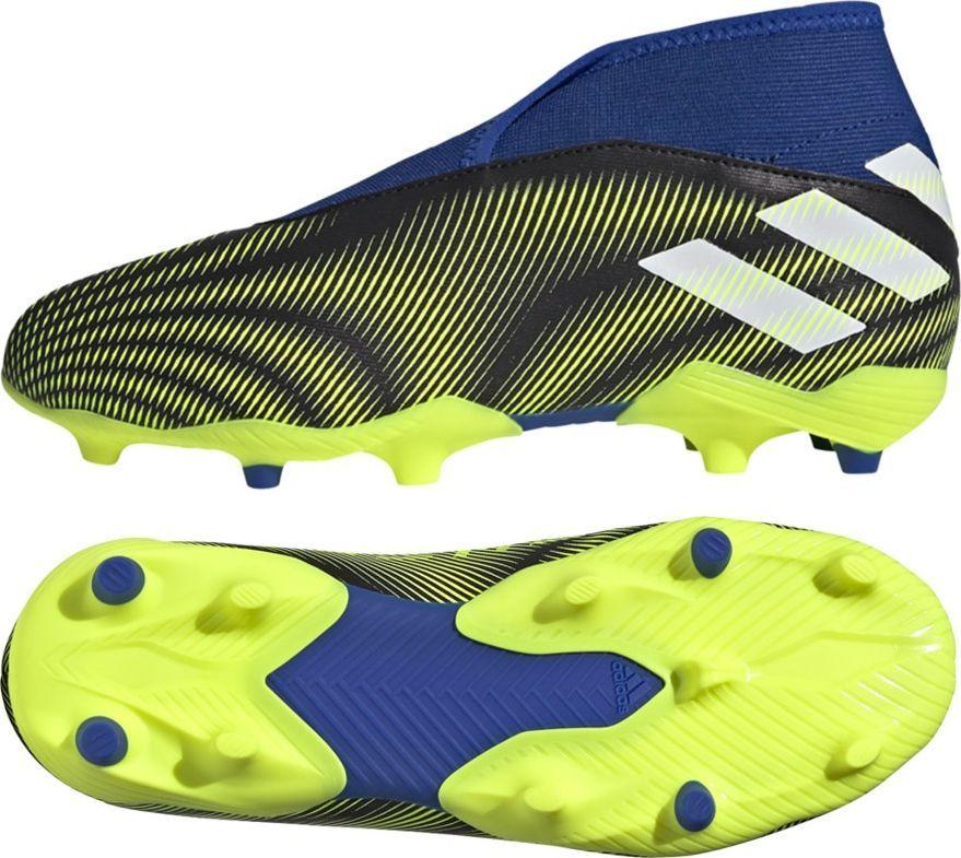 Adidas Buty adidas Nemeziz.3 LL FG J FY0819 FY0819 niebieski 34 1