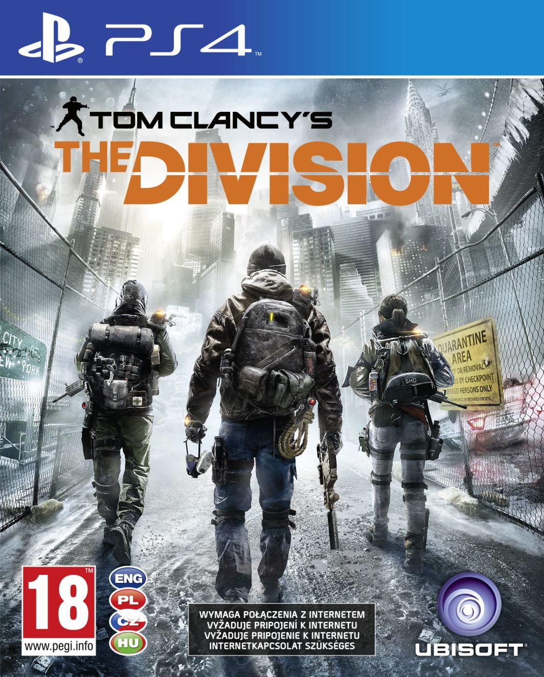 Tom Clancy's The Division PS4 1