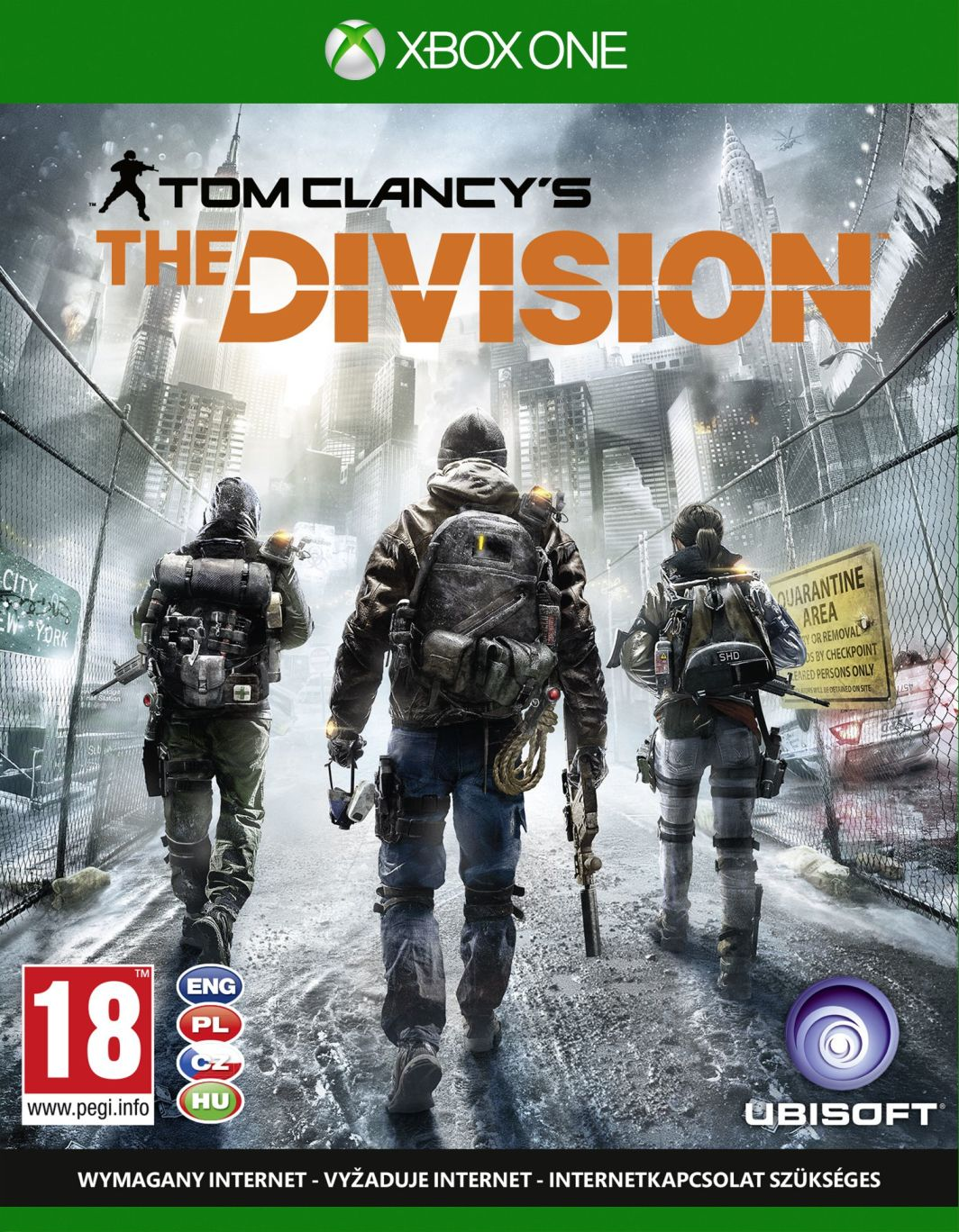 Tom Clancy's The Division Xbox One 1