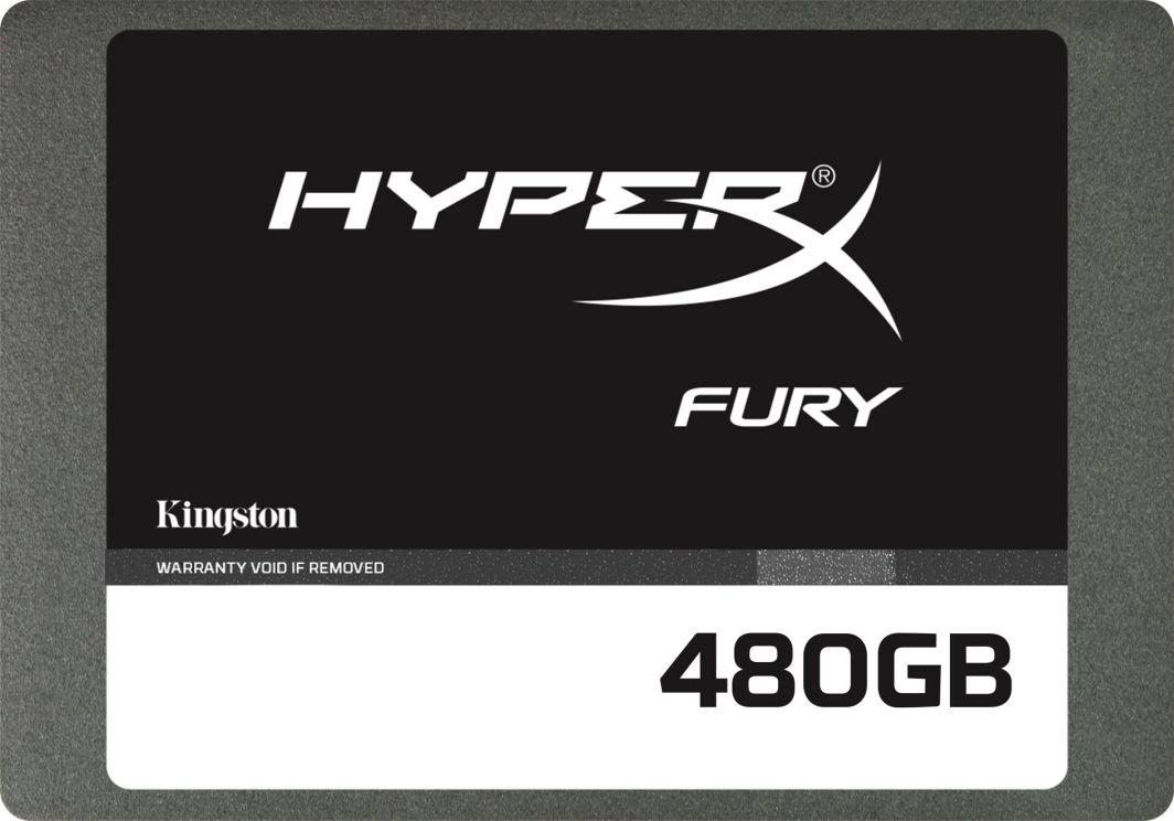 """Dysk SSD HyperX 480 GB 2.5"""" SATA III (SHFS37A/480G) 1"""
