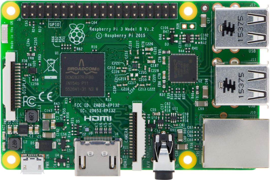 Raspberry Pi Komputer Raspberry Pi 3 Model B 1GB 1