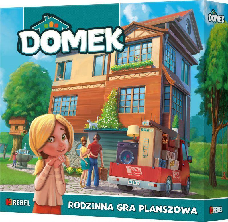 Rebel Gra planszowa Domek (100893) 1