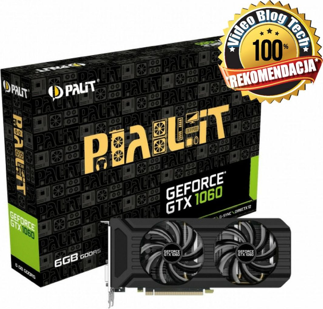 Karta graficzna Palit GeForce GTX 1060 Dual 6GB GDDR5 (NE51060015J9D) 1