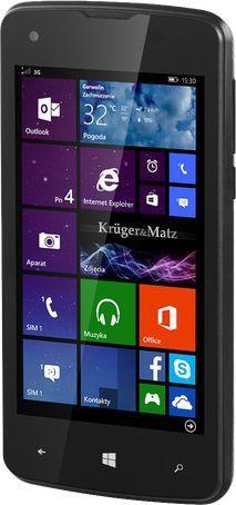 Smartfon Kruger&Matz 8 GB Dual SIM Czarny  (KM0426) 1