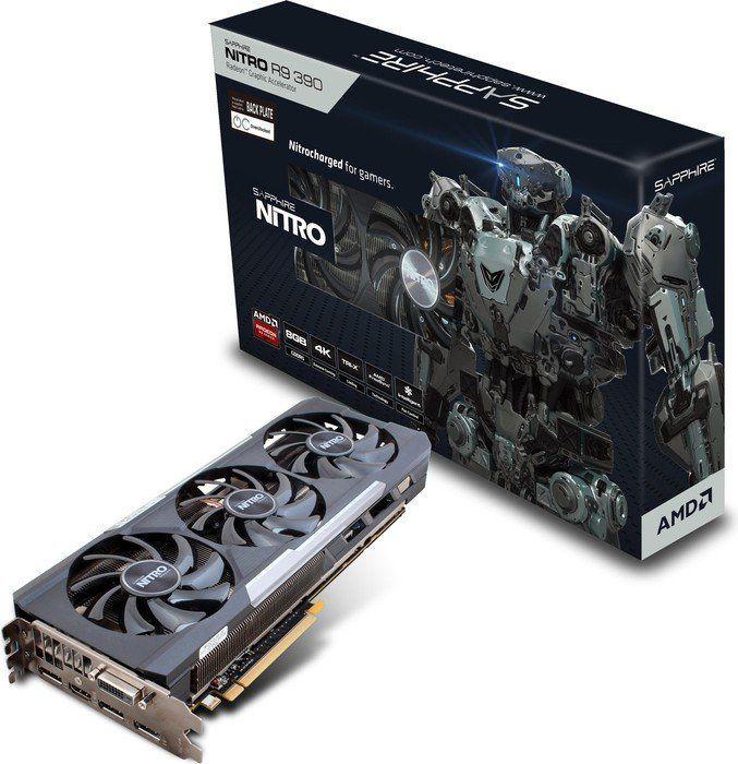 Karta graficzna Sapphire Radeon R9 390 Nitro 8GB GDDR5 (11244-01-20G) 1