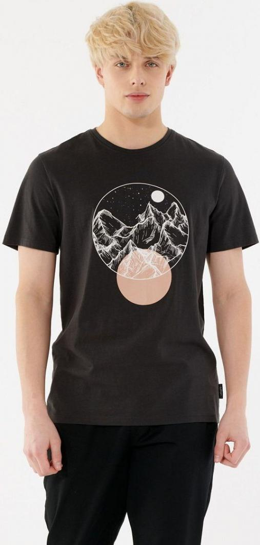 Outhorn T-shirt męski HOL21-TSM606 ciemny szary r. XXL 1