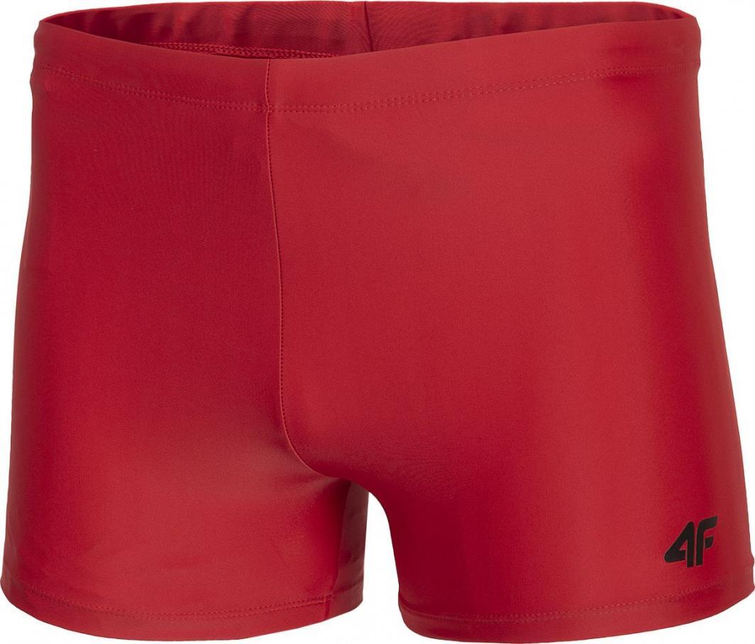 4f Kąpielówki męskie H4L21-MAJM002 czerwony r. L 1