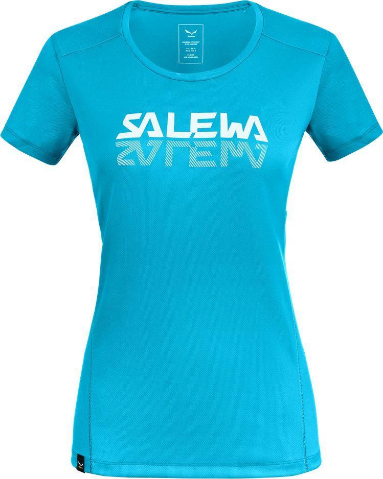 Salewa Koszulka damska Sporty Graphic Dry W s/s Tee maui blue r. S 1