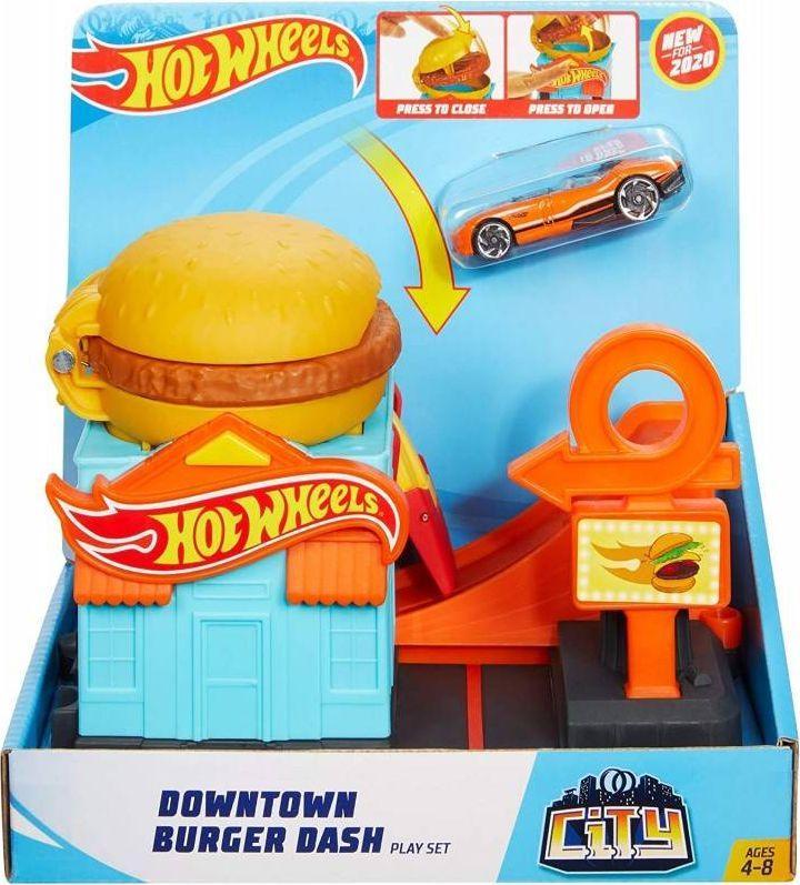 Hot Wheels Kaskaderska burgerownia (FRH28) 1