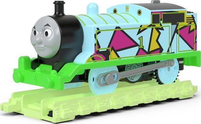 Fisher Price Świecąca lokomotywa + tory Thomas (FVJ73) 1