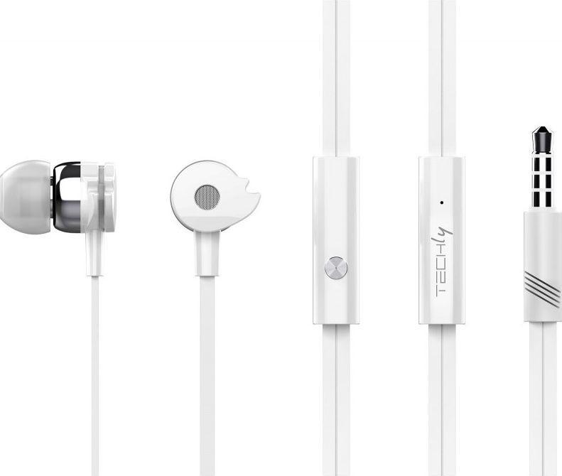 Słuchawki Techly Stereo  (SB-HP A1WHTY) 1