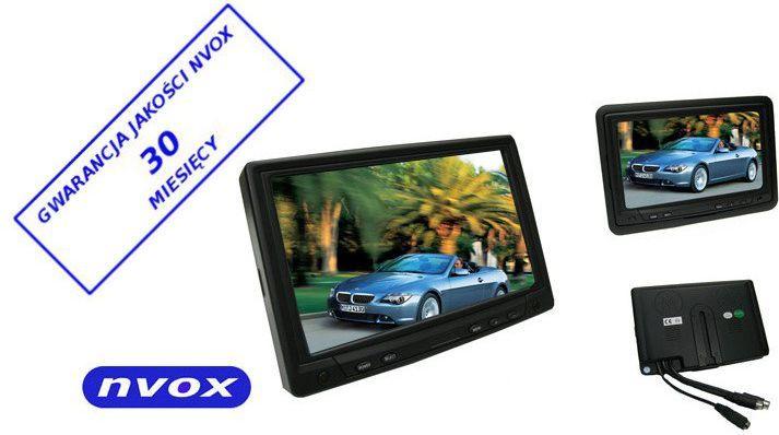 Nvox 7'' Monitor LCD z ekranem dotykowym Czarny (MPC718) 1