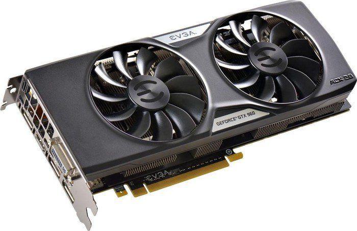 Karta graficzna EVGA GeForce GTX 960, 4 GB GDDR5 (128 bit) 3x DP, DVI-I, HDMI, Box (04G-P4-3967-KR) 1