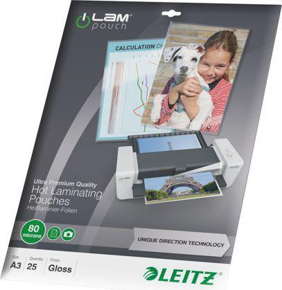 Leitz Folia do laminowania A3 80mic (7486-00-00) 1