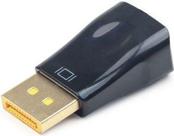 Adapter AV Gembird DisplayPort - D-Sub (VGA) czarny (A-DPM-VGAF-01) 1