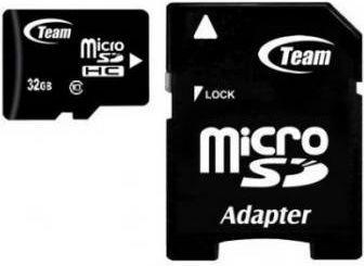 Karta Team Group MicroSDHC 32 GB Class 10  (TUSDH32GCL1003) 1