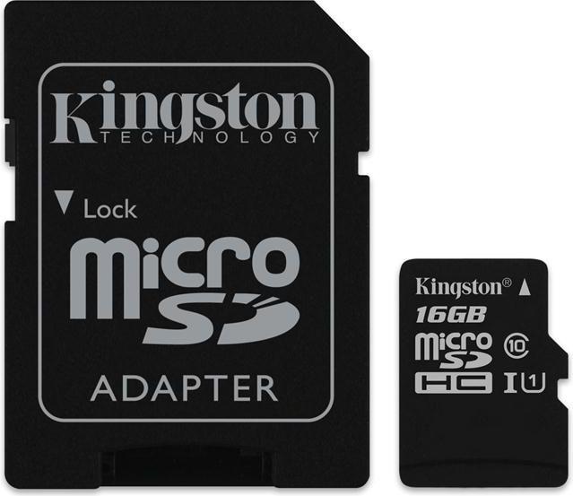 Karta Kingston MicroSDHC 16 GB Class 10 UHS-I/U1  (SDC10G2/16GB) 1