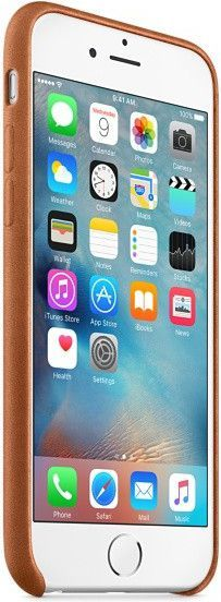 Apple etui Leather Case iPhone 6s (MKXT2ZM/A) 1