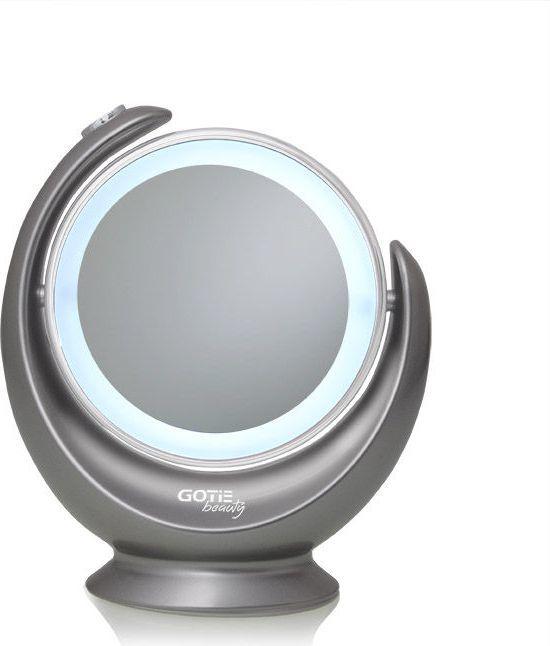 Lusterko kosmetyczne Gotie Lusterko z podświetleniem LED GOTIE, srebrne (GMR-319S) 1