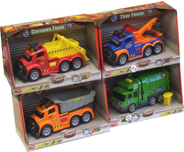 Dickie Małe pojazdy miejskie 4 rodzaje 1