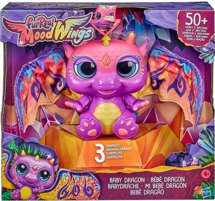 Hasbro FurReal Friends Moodwings Baby Dragon (F0633) 1
