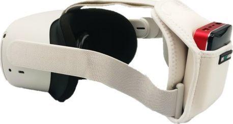 Kiwi Powerbank dla Oculus Quest 2 z uchwytem i kablem 1