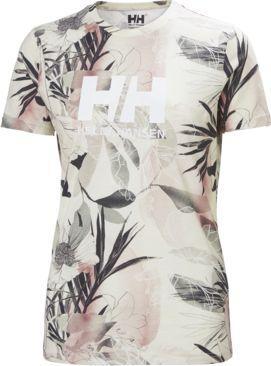 Helly Hansen Koszulka damska Logo Cream Esra Print r. M (34112_034) 1